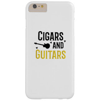 Cigars and Guitars Musician Music Lover Rock Funny Barely There iPhone 6 Plus Case