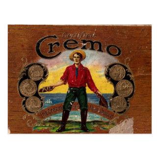 cigars, cigarettes postcard