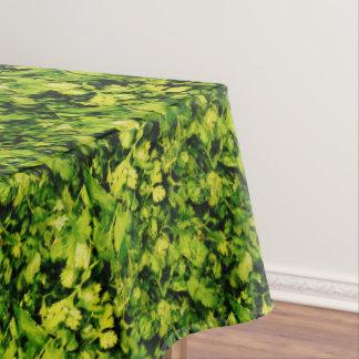 Cilantro / Coriander Leaves Tablecloth
