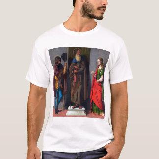Cima da Conegliano Saints Roch Anthony Abbot T-Shirt
