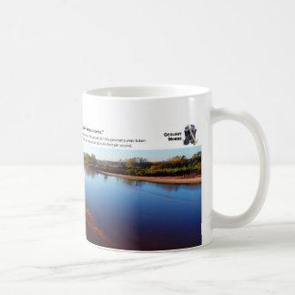 Cimarron River III - October Morning Looking East Coffee Mug