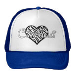 Cimorelli Hat - Zebra Heart