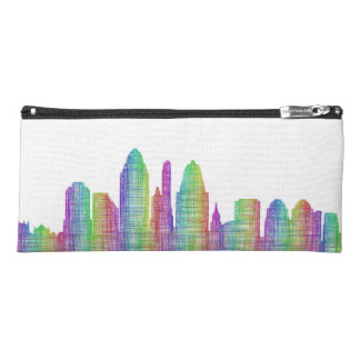 Cincinnati city skyline pencil case