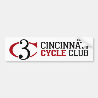 Cincinnati Cycle Club Bumper Sticker