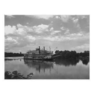 Cincinnati Excursion Steamer: 1942 Poster