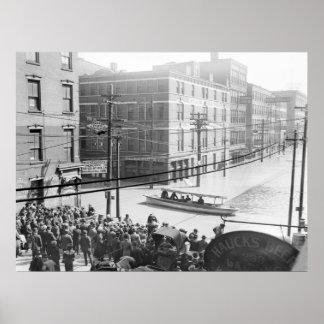 Cincinnati Flood: 1910 Poster