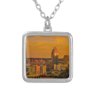 Cincinnati Golden Silver Plated Necklace