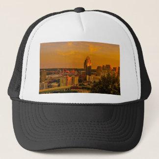 Cincinnati Golden Trucker Hat