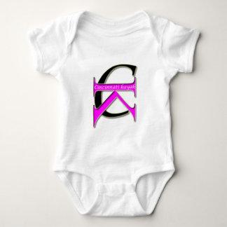 Cincinnati Kayak - Baby - Pink Logo Baby Bodysuit
