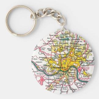 Cincinnati Keychain