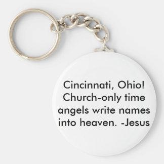 Cincinnati, Oh/Keychain-Be a witness!