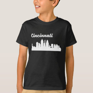 Cincinnati OH Skyline T-Shirt