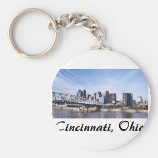Cincinnati Ohio Keychain
