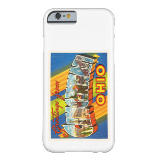 Cincinnati Ohio OH Old Vintage Travel Souvenir Barely There iPhone 6 Case