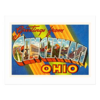Cincinnati Ohio OH Old Vintage Travel Souvenir Postcard