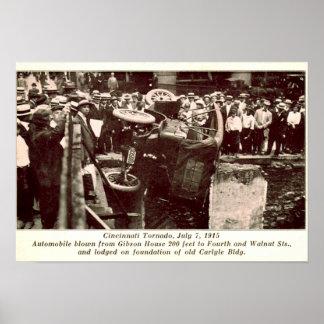 Cincinnati Ohio Tornado Damage 1915 Posters