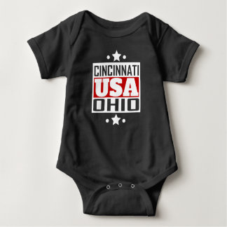 Cincinnati Ohio USA Baby Bodysuit