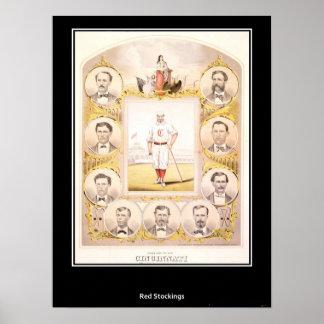 Cincinnati Red Stockings 1869 Poster