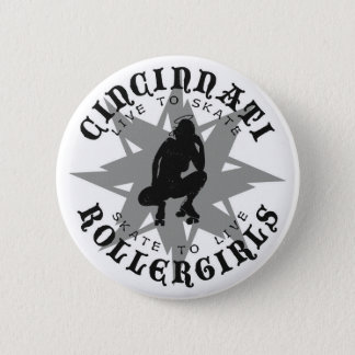 Cincinnati Rollergirls Button