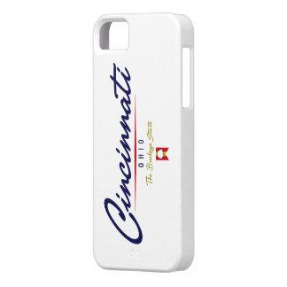 Cincinnati Script iPhone 5 Covers