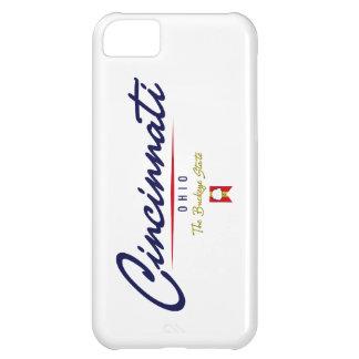 Cincinnati Script iPhone 5C Cases