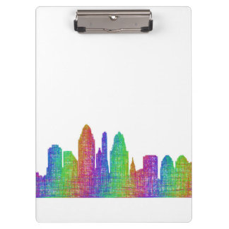 Cincinnati skyline clipboard