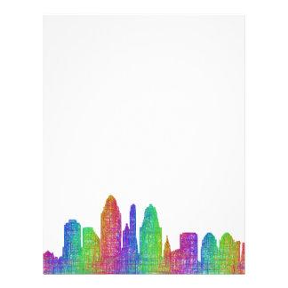 Cincinnati skyline letterhead