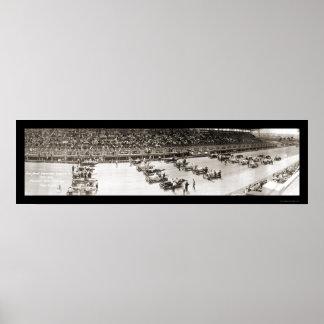 Cincinnati Speedway Photo 1916 Poster