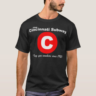 Cincinnati Subway T-Shirt (Black)