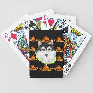 CINCO de MAYO  Alaskan Malamute Bicycle Playing Cards