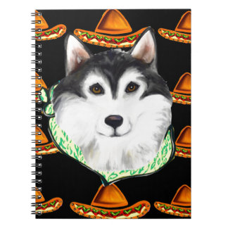 CINCO de MAYO  Alaskan Malamute Notebooks