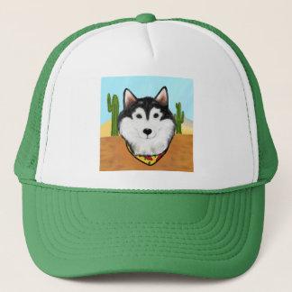 Cinco De Mayo Alaskan Malamute Trucker Hat