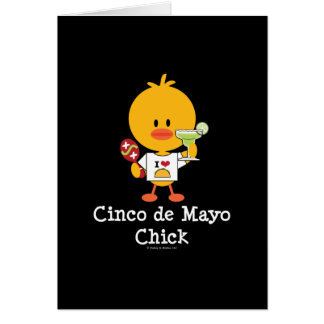 Cinco de Mayo Chick Greeting Card