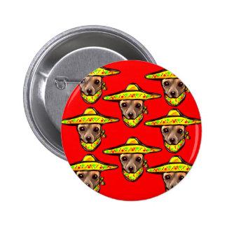 Cinco De Mayo Chihauhaus 2 Inch Round Button
