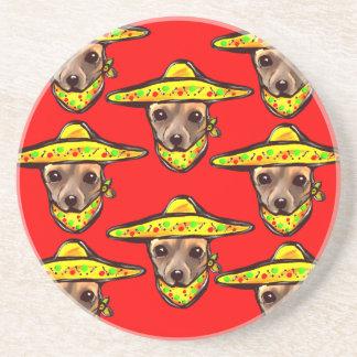 Cinco De Mayo Chihauhaus Coaster