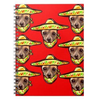 Cinco De Mayo Chihauhaus Notebooks