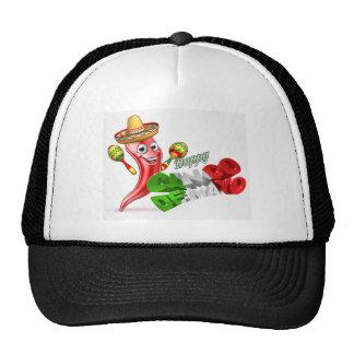 Cinco De Mayo Chilli Pepper Design Trucker Hat