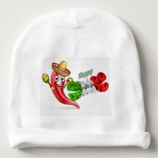Cinco De Mayo Chilli Pepper Poster Design Baby Beanie