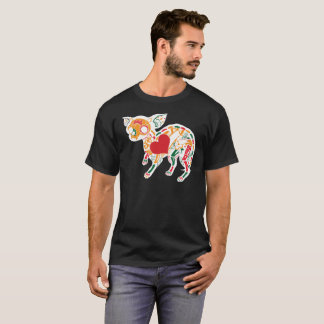 Cinco De Mayo Colorful Animal Skeleton Tee