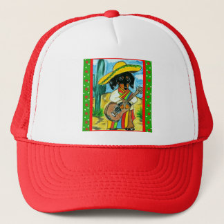 Cinco de Mayo Dachshund Trucker Hat