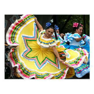 Cinco de Mayo Dancers Postcard