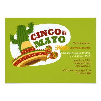 Cinco de Mayo Day Invitation