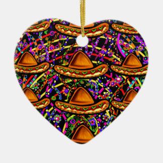 Cinco de Mayo Design Ceramic Ornament