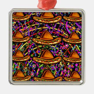 Cinco de Mayo Design Metal Ornament