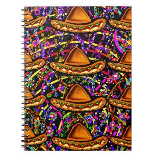 Cinco de Mayo Design Spiral Notebook