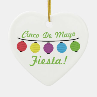 Cinco De Mayo Fiesta! Ceramic Ornament