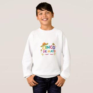Cinco De Mayo For Kids Men Women Pinata Sombrero Sweatshirt