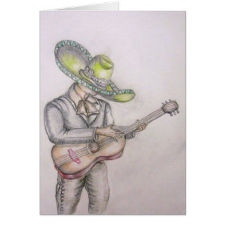 Cinco de Mayo, Mariachi Card