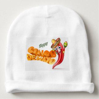 Cinco De Mayo Mexican Chilli Pepper Design Baby Beanie