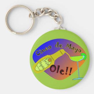 "Cinco de Mayo  ""OLE"" Tequila T-Shirts Keychain"